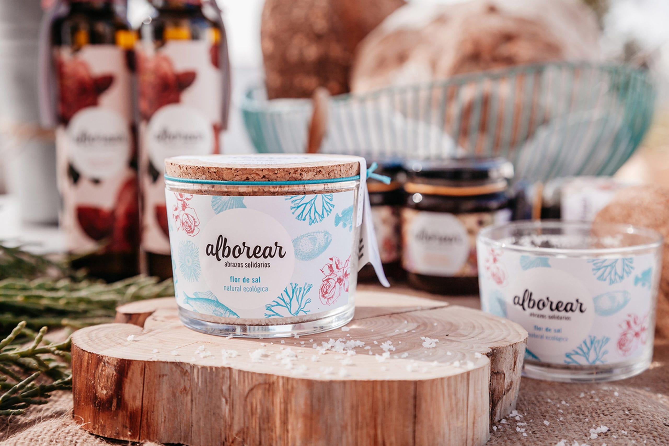 Proyecto de branding y packaging para Alborear
