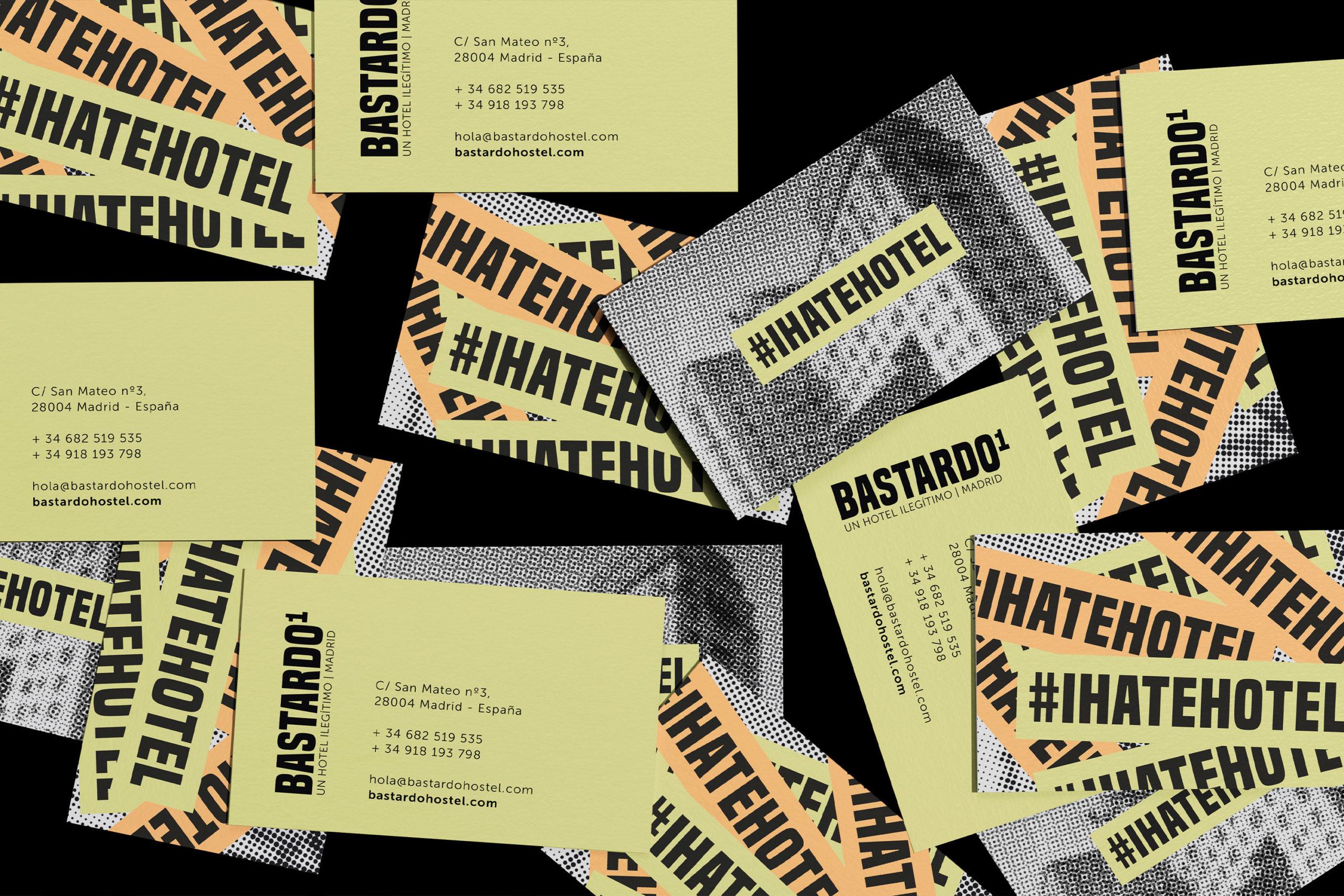 Proyecto de Naming y branding para el Hostel bastardo