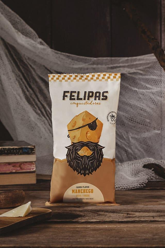 Proyecto de naming, branding y packaging para Felipas
