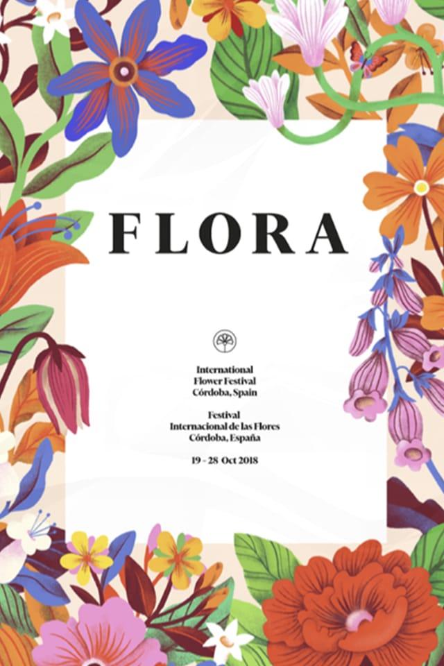 Proyecto de branding para FLORA festival internacional de las flores