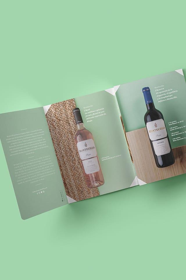 Proyecto de branding y Packaging para Montecillo de Grupo Osborne