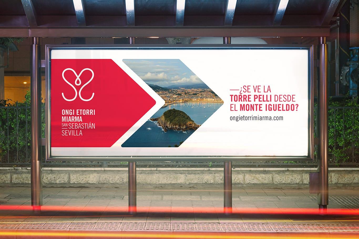 Proyecto de naming, branding para Ongi Etorri Miarma